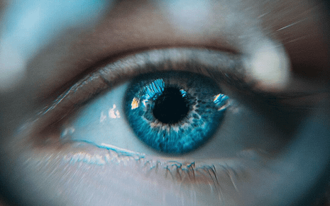 Image of Eyes: To improve UX, write website copy that reflects how users scan webpages.